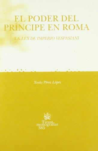 El Poder del príncipe en Roma