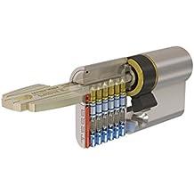 Tesa 3012432 - Cilindro de seguridad, leva corta (niquelado, 30 x 40 mm)