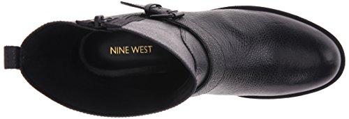 Nine West Hanzil Femmes Cuir Bottine Black