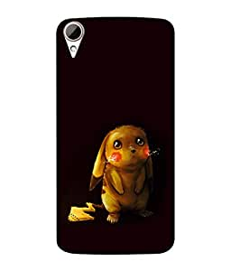 chnno Pikachu 3D Printed Back cover for HTC Desire 828 Dual SIM