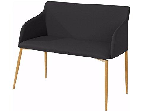 Sitzbank Sofabank Polsterbank 2-Sitzer Sofa Couch Küchenbank gepolstert Lounge Kunstleder...