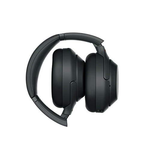 Sony WH-1000XM3 Bluetooth Noise Cancelling Kopfhörer (30h Akkulaufzeit, Touch Sensor, Headphones Connect App, Schnellladefunktion) schwarz - 6