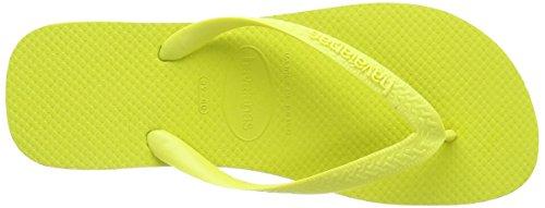 Havaianas Flip Flops Top Zehentrener für Männer/Frauen Gelb (Neon Yellow 8446)