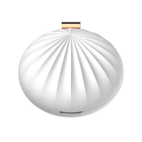 Tragbare Aroma Diffusor Mini Shell Weihrauch Brenner elektrische Aromatherapie Maschine ätherisches Öl Diffusor@Weiß - öl-brenner Elektrische
