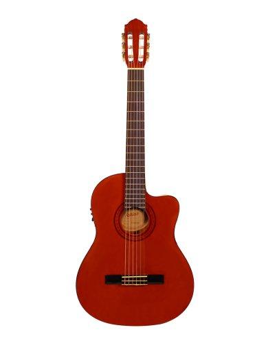 Ashton CG44CEQAM 4/4 Elektro Konzertgitarre natür