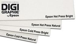 Affordable Epson C13S042332 Hot Press Bright Inkjet Paper 330 g/m² A2 25 Sheets Discount