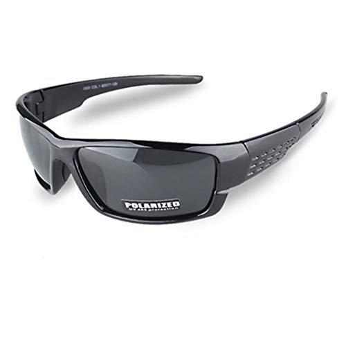 Sonnenbrille Neue Polarisierte Sonnenbrillen Männer Sport Sonnenbrille Uv400 Outdoor Fahren Angeln Brillenmode Brillen Hell Schwarz