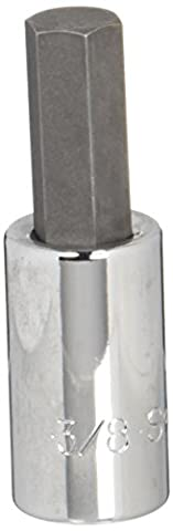 SK Hand Tool 41212 Drive Hex 3/8-Inch Bit Socket, 3/8-Inch,