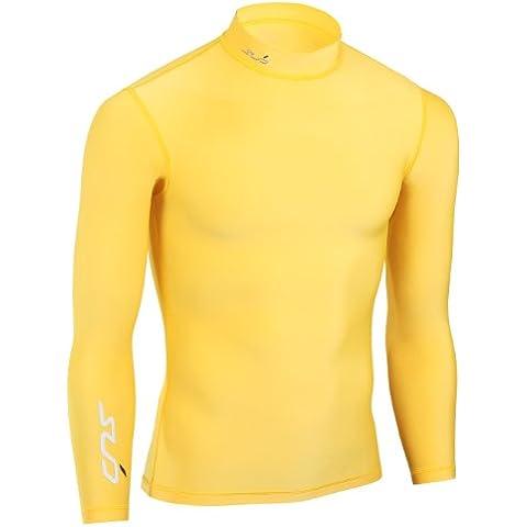 Sub Sports - Camiseta infantil, color amarillo, talla 11-12 años