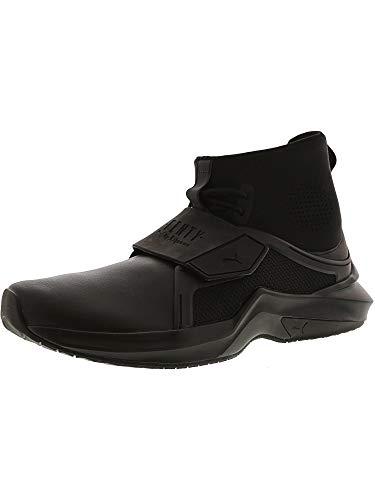 PUMA Women's Fenty X High Top Trainer Sneakers, Black/Black, Size 8.5 (High-top-sneakers Von Puma Womens)