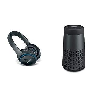 Bose ® SoundLink around-ear kabellose Kopfhörer II schwarz & Bose ® SoundLink Revolve Bluetooth Lautsprecher schwarz (B07PHRL8PD) | Amazon price tracker / tracking, Amazon price history charts, Amazon price watches, Amazon price drop alerts