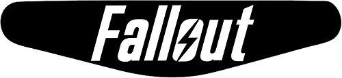 Play Station PS4 Lightbar Sticker Aufkleber Fallout (schwarz)