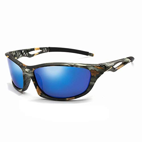 YSA Sonnenbrille Polarisierte Sonnenbrille Herren 'S Camouflage Square Driving Sonnenbrille Nachtsichtbrille Herren' S Uv400 Brille
