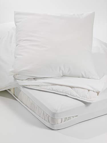 Allergiker Milben Bettwäsche Oberbett-Bezug, Encasing Milbenkotdicht 135 x 200 cm, Milbenschutz für Hausstauballergiker