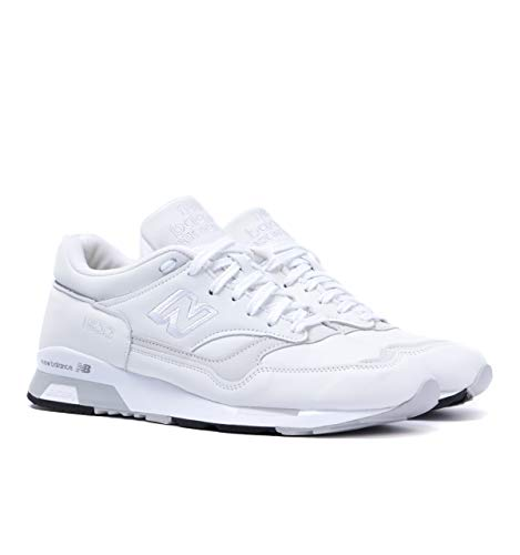 New Balance 1500 Made In England White Leather Trainers - UK 11 - Made In England