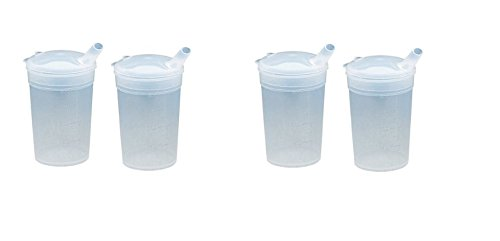 x2-adult-convalescent-drinking-feeding-cup-beaker-with-12x10mm-lip-spout-200ml