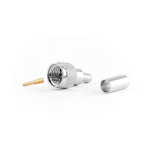 VARIA Group Mini-UHF-Stecker für LMR/HDF200 Kabel, Crimp Version -