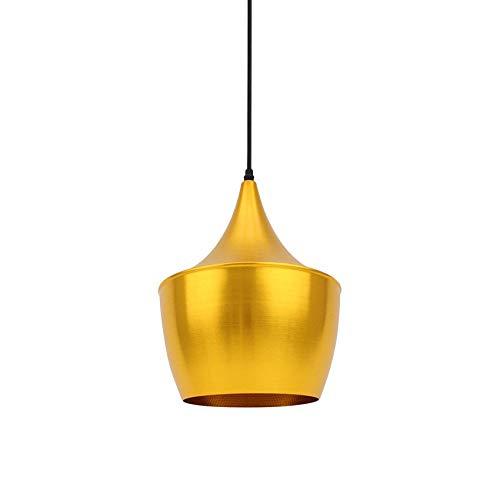 Lámpara Colgante Mercury Dorado