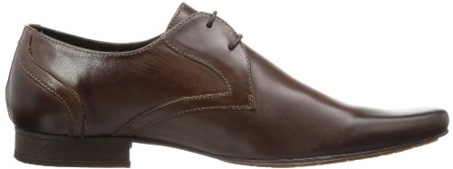 Hudson London LIVINGSTON Herren Derby Schnürhalbschuhe Braun (Brown)
