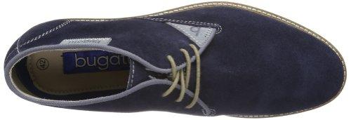 Bugatti D8028PR3, Scarpe stringate uomo blu (Blau (dunkelblau 425))