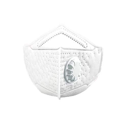 Atemschutzmaske Zolimx Staubmaske PM2.5 Maske N95 Partikelmaske Gesicht FeinstaubmaskeTemschutzmasken mit Partikulieren Atemmasken mit Ventilen für Kinder Staubmaske 6/12 /24/48 pc (12 Pc)