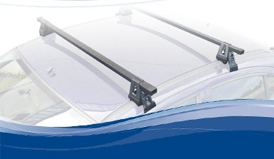 Steel Roof Bars Renault Clio II Campus/Storia – 3 Doors from 1998