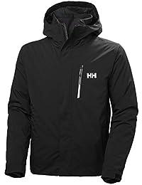 Helly Hansen Bonanza Jacket Chaqueta Con Doble Capa, Hombre, Black, L