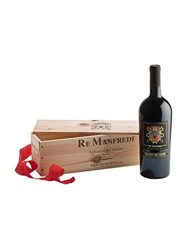RE MANFREDI Aglianico del Vulture DOC - Re Manfredi - Vino rosso fermo 2012 - Bottiglia 1,5 Lt
