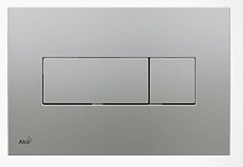WC Vorwandelement für Trockenbau 120 cm inklusive Betätigungsplatte Chrom Matt Typ Quadro Mini Unterputzspülkasten Spülkasten Wand WC hängend Schallschutz