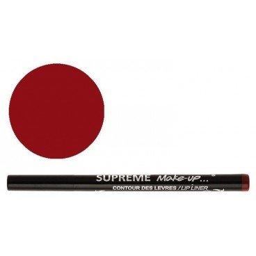 Supreme Make Up Feutre Semi-Permanent Effet Tatouage Contour des Lèvres Vin Rouge 1ml