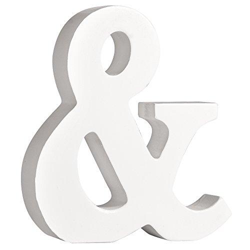 Zeichen Zeichen (Rayher 62678000 MDF- Zeichen&, weiß, 11cm, Stärke 2cm)