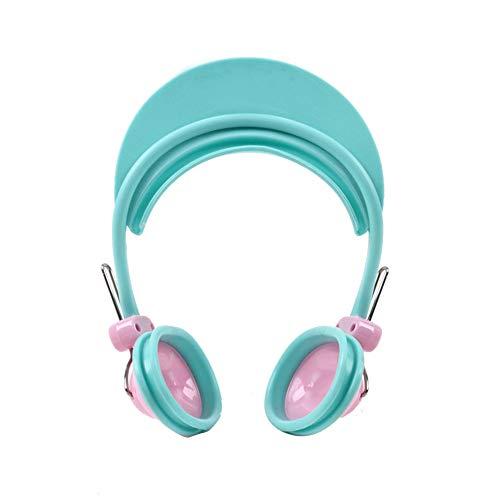Newin Star Impermeable de plástico de la protección auditiva del oído almohadillas cubierta del protector de las orejeras de pelo baño de tinte Ducha