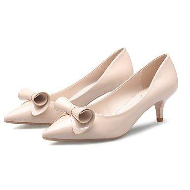 Moda Donna Sandali Sexy donna Shoesls quattro tacchi Stagione / Punta /Bowknot Ufficio sintetico & Carriera / Party & sera abito / Black
