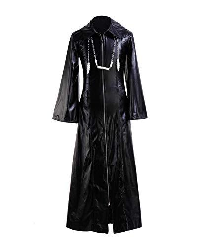 Zhangjianwangluokeji Roxas Kostüm Halloween Rollenspiel Cosplay PU Jacke für Erwachsene (XX-Large, ()