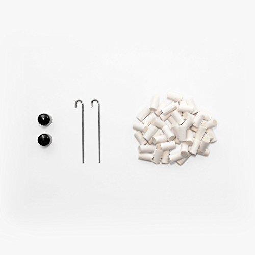 SilverStick Zubehörset für Reisepfeife mit 2 Kappen, 2 Schürhaken und 50 Baumwollfiltern (Outdoor-kamin Poker)
