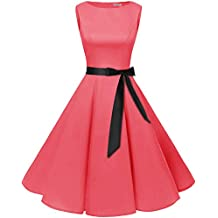 b9a10f2299ef72 Bbonlinedress 50s Retro Schwingen Vintage Rockabilly Kleid Faltenrock
