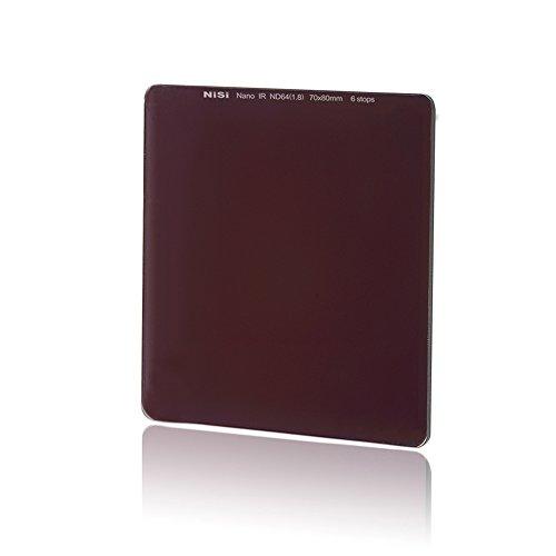 NiSi Neutral-Graufilter 70x80mm ND64 1.8 (6-Blenden)