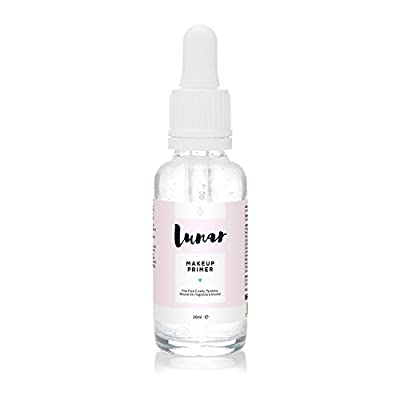 Makeup Primer by Lunar. Primes & Hydrates Your Face for Make Up & Foundation Application 30ml. from Lunar