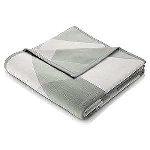 biederlack® samt-weiche Kuschel-Decke I Made in Germany I Öko-Tex Made in Green I nachhaltig produziert I Wohn-Decke