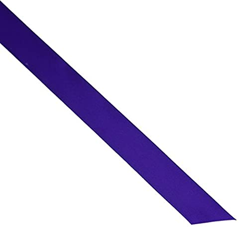 Single Face Satin Ribbon 7/8 Wide 20 Yards-Regal Purple by Offray