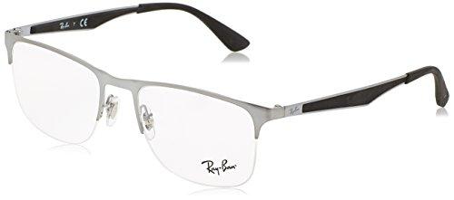 Preisvergleich Produktbild Ray-Ban Herren Brillengestelle 6362,  Schwarz (Negro),  55