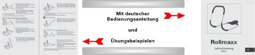 B-WARE!! – Rollmaxx Bauchtrainer – Achtung Vor dem Kauf unbedingt die Bilder und Beschreibung beachten!! Bauchmuskeltrainer Crunch Fitness Muskeltrainer Roll Maxx Geschenk Marke Crane (Aldi) von SchwabMarken, 1 Stück - 5