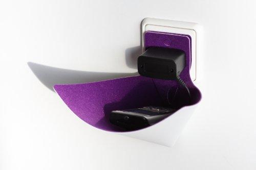 load-ding violett Handyhalter Ladeschale von xxd Design