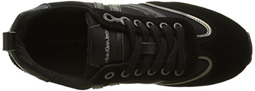 Calvin Klein Timberly Soft Nylon/Suede, Sneakers basses femme Mehrfarbig (bpw)