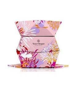 Veuve Clicquot Folding Pink Flower Ice Bucket