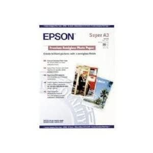 Epson Premium Semigloss Photo Paper - Semi-gloss photo paper - A3 plus (329 x 483 mm) - 20 sheet(s)