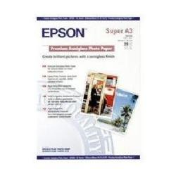 Epson A3 Premium Semi-Gloss Photo Paper A3 250gsm Pack of 20 lowest price