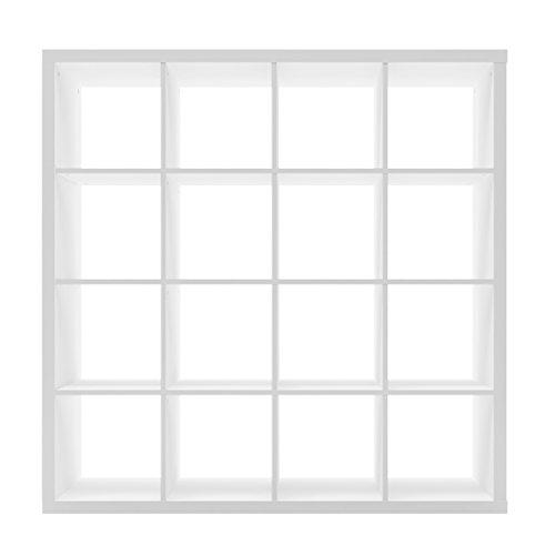 Furniture 247 Regaleinheit mit 4 Ebenen (16 Würfel) - Weiß