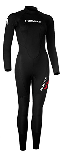 HEAD Multix VL Multisport 2,5 Wetsuit Ladies Black/Red Größe XL 2019 Triathlon-Bekleidung