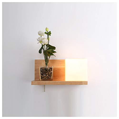 Thor-yan moderno muro minimalista di transizione lampada lampada da comodino della parete di personalità della moda letto in vetro creativa led led [classe energetica a + +] -51561lampade da parete